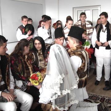 Video|Ziua Femeii, sărbătorită printr-o manifestare inedită la Liceul Tehnologic Marmația