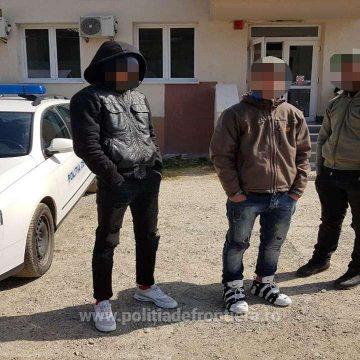 Trei africani reținuți după ce au trecut ilegal granița din Ucraina în România