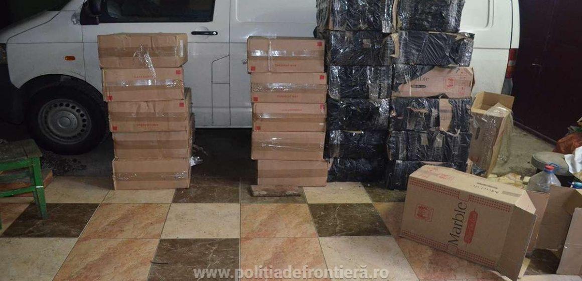 S-au tras focuri de avertisment însă contrabandiștii au scăpat