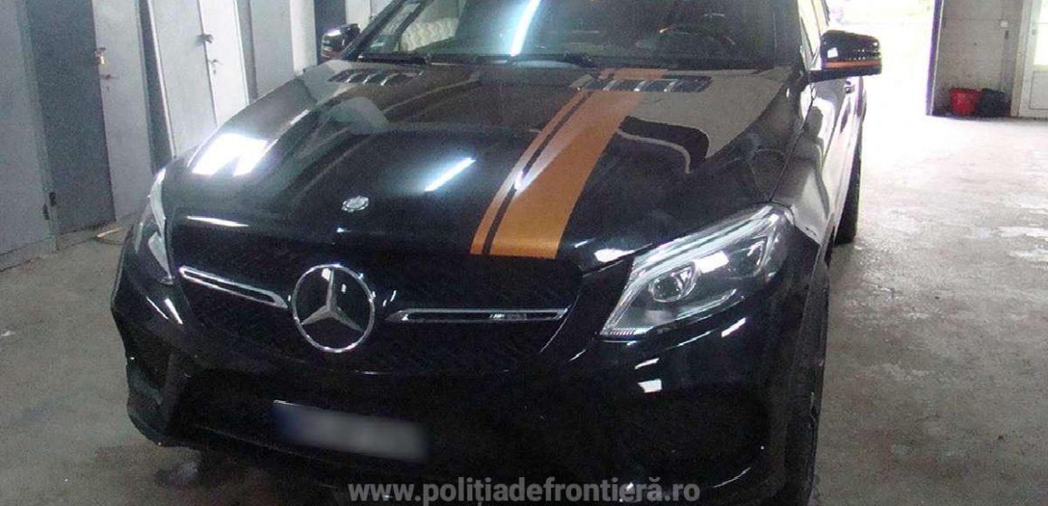 Video|Mașină furată, de 74.000 de euro, recuperată de lucrătorii ITPF Sighet