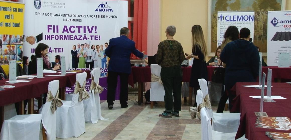 VIDEO | Câți șomeri au fost angajați la bursa generală a locurilor de muncă