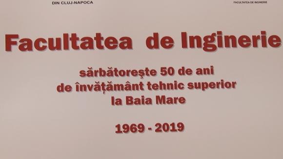 VIDEO | Aniversare: 50 de ani de învățământ tehnic superior în Baia Mare