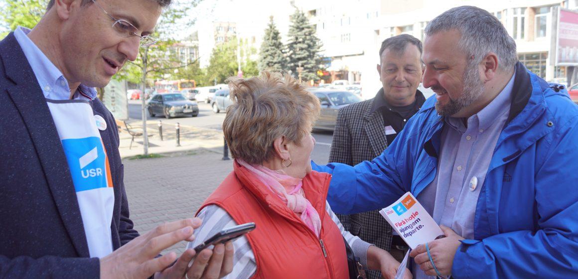 Caravana Alianței 2020 USR PLUS în Baia Mare