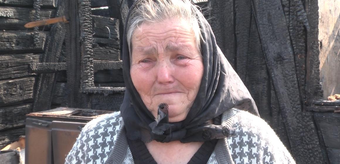 ARE NEVOIE DE AJUTOR: Mama bărbatului găsit carbonizat sâmbătă în Sighetu Marmației nu are bani ca să îl înmormânteze