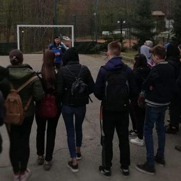VIDEO | Elevi la întâlnire cu jandarmii