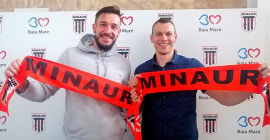 Video|Minaur și-a prelungit înțelegerea cu Csepreghi și a semnat și cu un jucător din naționala Cehiei