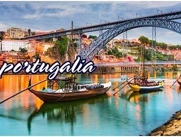 Circuit nou: Portugalia – plecare cu avionul din Budapesta