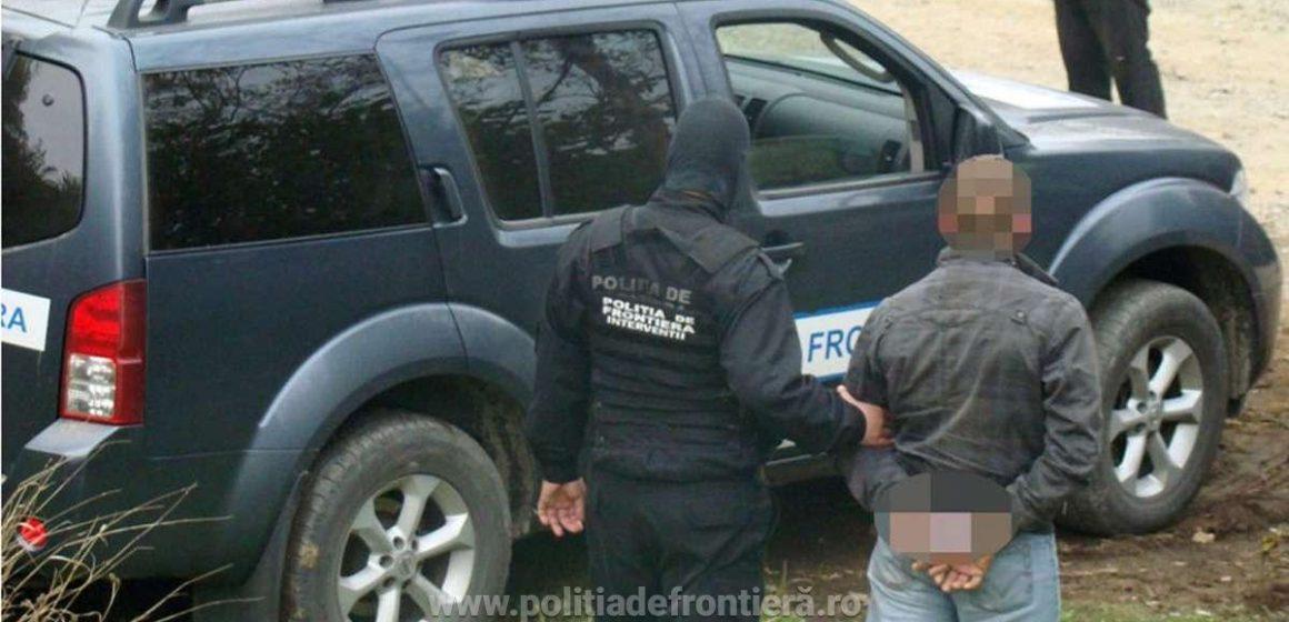 Căutat pentru furt, oprit la graniță
