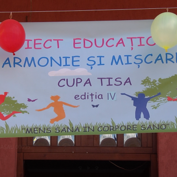 """Armonie și mișcare – Cupa Tisa"" în Sarasău"