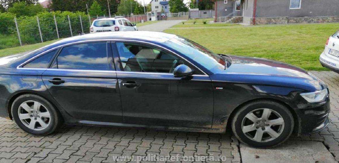 Un Audi A6 furat din Marea Britanie a fost recuperat de polițiștii de frontieră