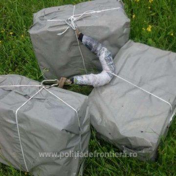 Contrabandă cu 18.000 de pachete cu țigări și un foc de avertisment