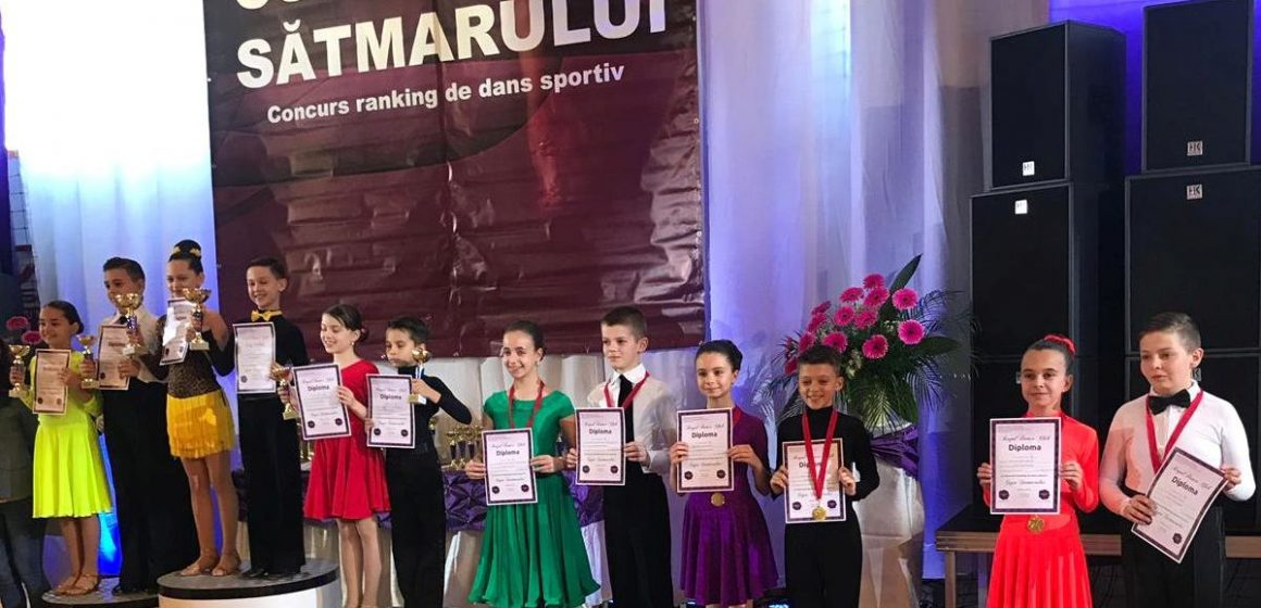 Video Cinci medalii pentru sportivii de la Prodance la Cupa Sătmarului