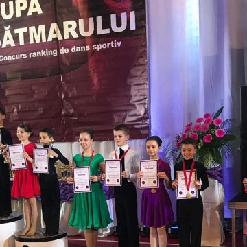 Video|Cinci medalii pentru sportivii de la Prodance la Cupa Sătmarului
