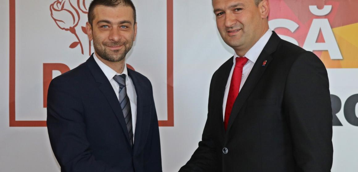 Vasile Țiplea, primarul orașului Dragomirești, susține principiile social-democrate și votează PSD în 26 mai!