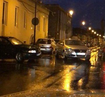 Două mașini s-au ciocnit pe strada Vasile Lucaciu din Baia Mare