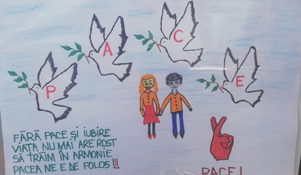 VIDEO | Clujul s-a alăturat proiectului internațional Culori pentru Pace