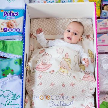 Cutia Bebelușului, de Ziua Copilului – sprijin pentru trei mame aflate în situații dificile