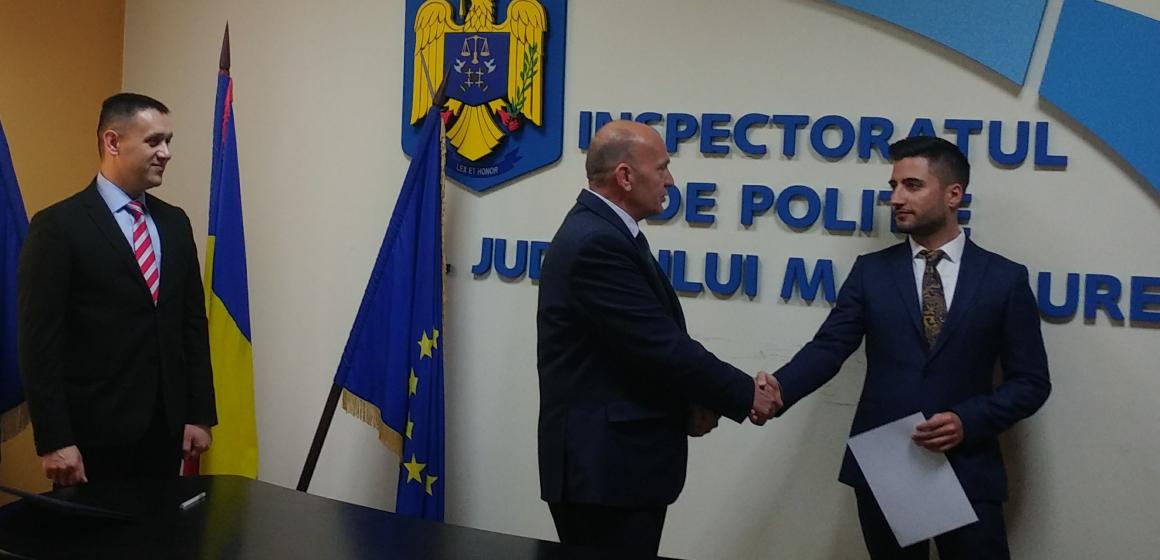 VIDEO | Sânge proaspăt la IPJ Maramureş