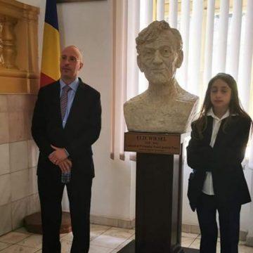 Fiul lui Elie Wiesel, în vizită în Sighet