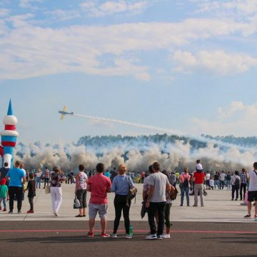 "Spectacol aviatic la ""Maramureș Air Show 2019"""