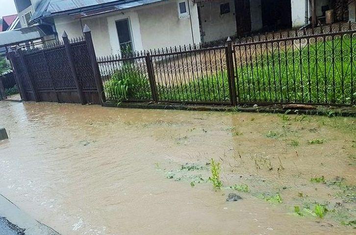 Pagubele provocate de inundații în Maramureș