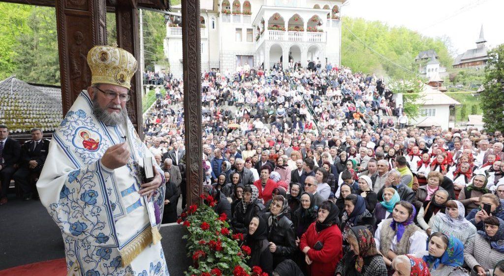 Mii de oameni au fost la hramul mic al Mănăstirii Rohia