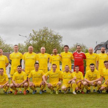 Meci de fotbal între delegația Maramureșului și reprezentanții misiunilor diplomatice în Luxemburg și ai Comisiei Europene