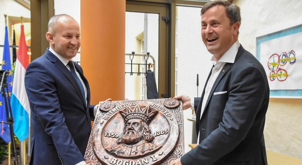 VIDEO | O delegație a Consiliului Județean a fost invitată la sediul Guvernului din Luxemburg