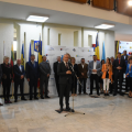 Delegațiile străine invitate la Zilelor Maramureșului au fost primite la Palatul Administrativ