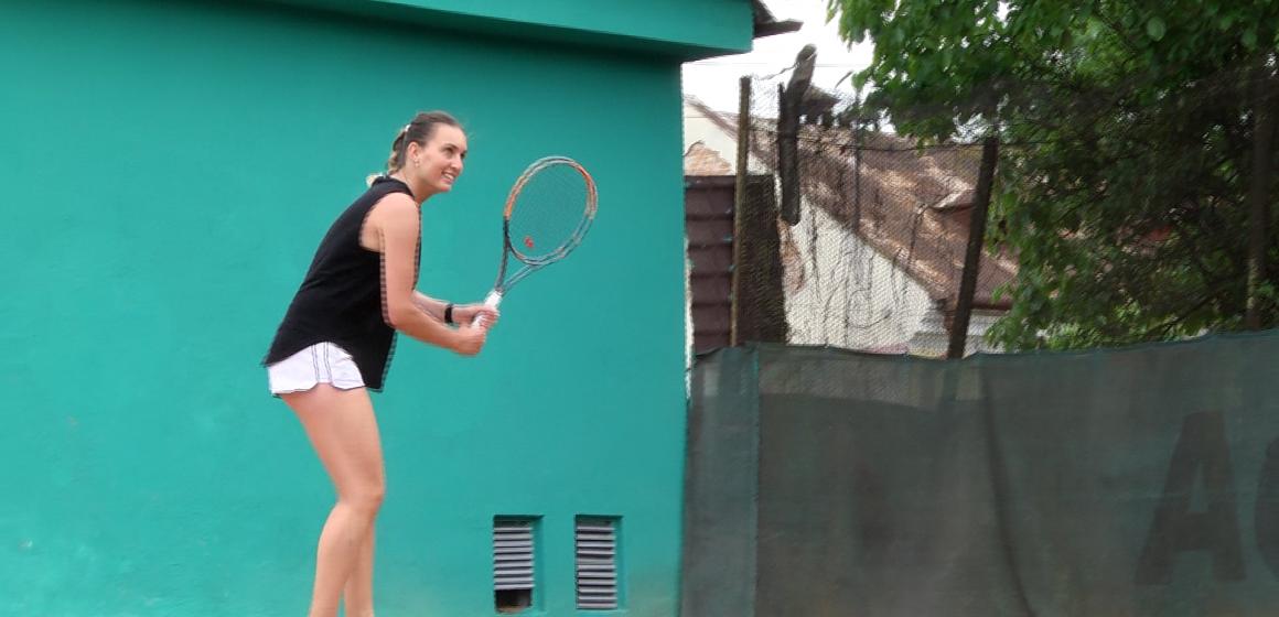 VIDEO | Carmen Truș a câștigat titlul de  jucătorul de tenis al anului în Chicago
