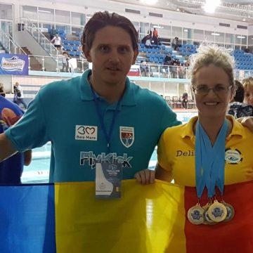 VIDEO | Medalii pentru maramureșeni la Campionatele arabe de înot masters