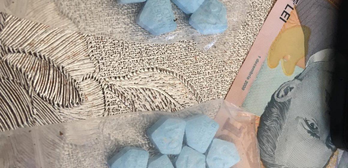 ( FOTO) Sighetean reţinut pentru trafic de droguri de mare risc