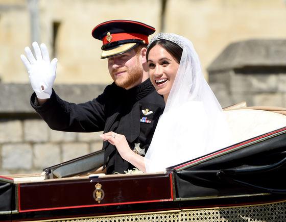 Fotografii private de la nunta prinţului Harry şi a lui Meghan Markle au apărut ILEGAL pe internet