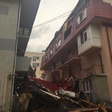Furtuna a făcut prăpăd în Baia Mare