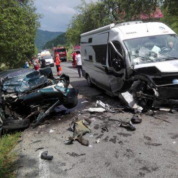 (FOTO )Accident grav în Bârsana