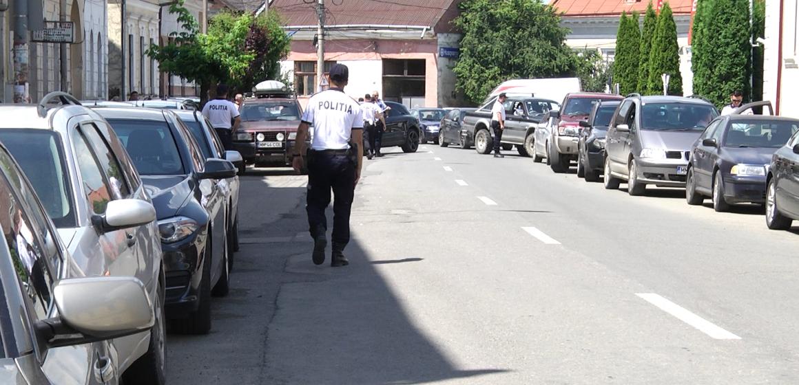 VIDEO | (FOTO) Acțiune de amploare desfășurată de polițiști în Sighet
