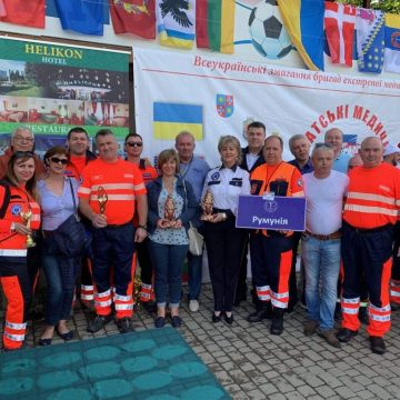 "Video|Ambulanțieri maramureșeni la ""Raliul medical transcarpatic 2019"""