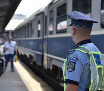 Poliţia Română a participat la acţiunea internaţională Rail Action Day – Active Shield