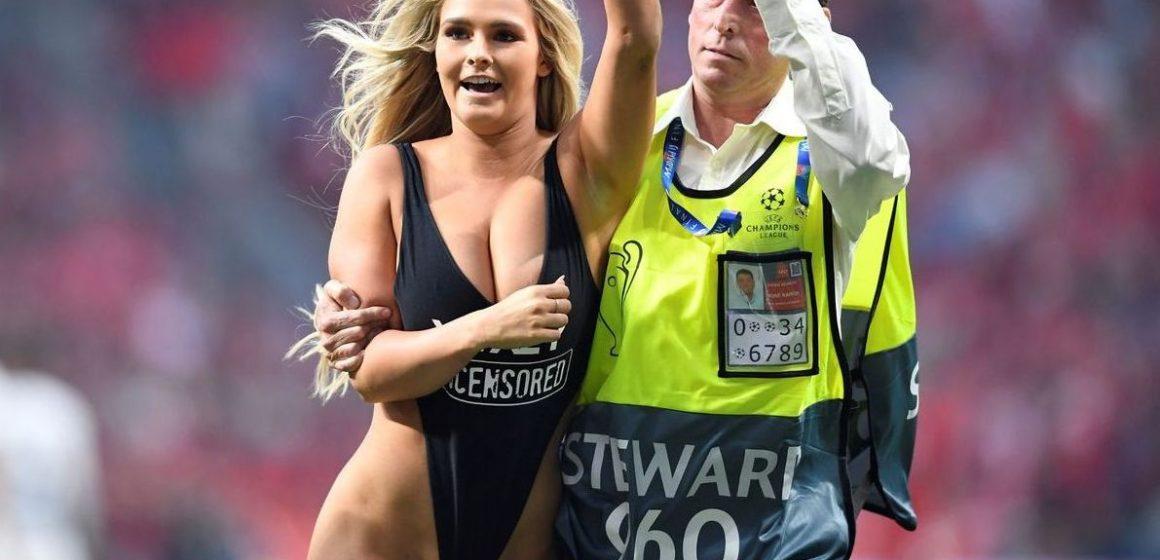 În așteptarea golurilor, spectatorii de la finala UCL au văzut o goală