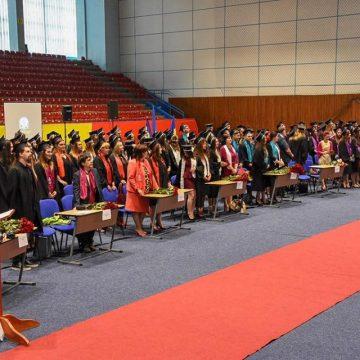 Cursul festiv al absolvenților Facultății de Litere din cadrul Centrului Universitar Nord Baia Mare