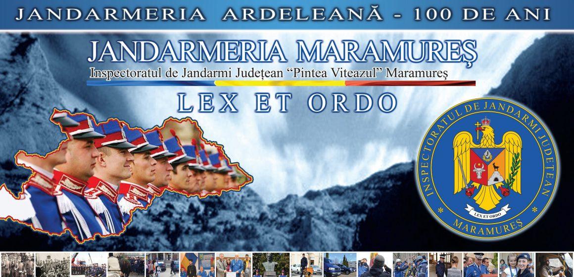 100 de ani de la  înfiinţarea Jandarmeriei Ardelene