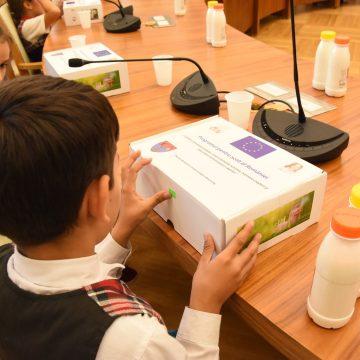 """Proiectul """" Beneficiile laptelui și produselor lactate în alimentația copilului"""" și-a desemnat câștigătorii"""