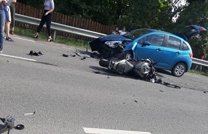 Trei răniți în două accidente pe șoselele Maramureșului