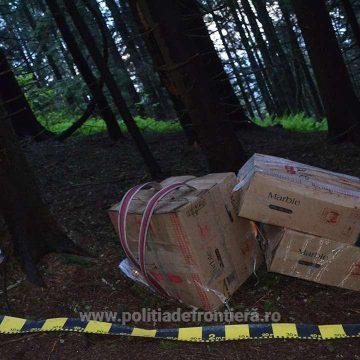 Peste 29.000 pachete țigări confiscate la frontiera de nord