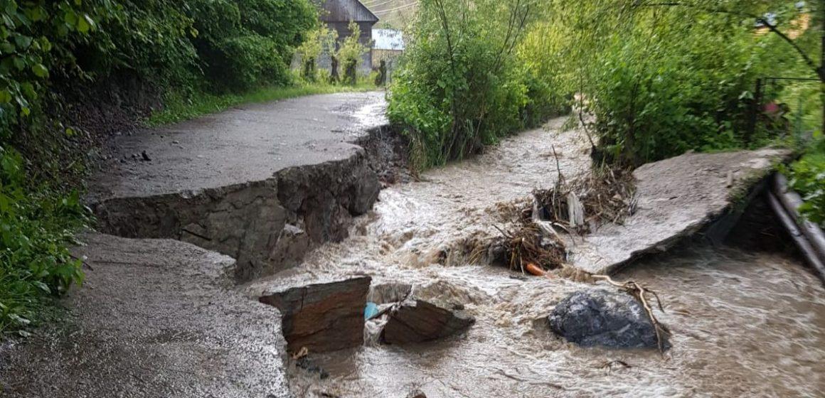 Video|Ce pagube au produs fenomenele meteorologice periculoase înregistrate în Maramureș în luna mai