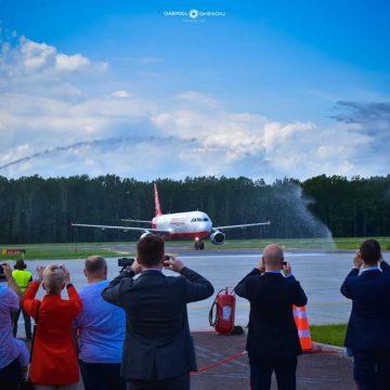VIDEO | GALERIE FOTO | Primul avion spre Antalya a decolat de pe Aeroportul Internațional Maramureș
