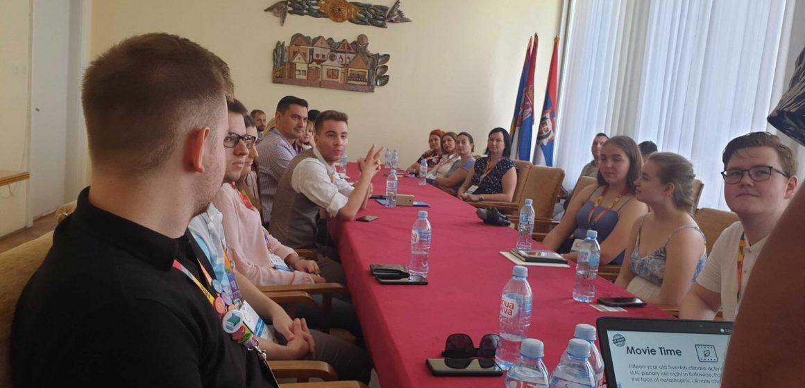 Delegația Maramureșului prezentă la Novi Sad se implică în programul evenimentului AER Summer Academy Serbia 2019