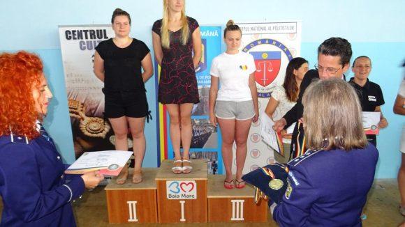 Şase medalii pentru poliţiştii maramureşeni la Campionatul de Înot al Ministerului Afacerilor Interne