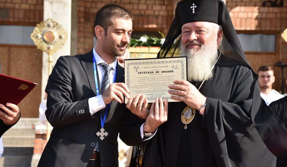 Înaltpreasfințitul Părinte Andrei Andreicuț a fost numit Cetățean de Onoare al Județului Maramureș