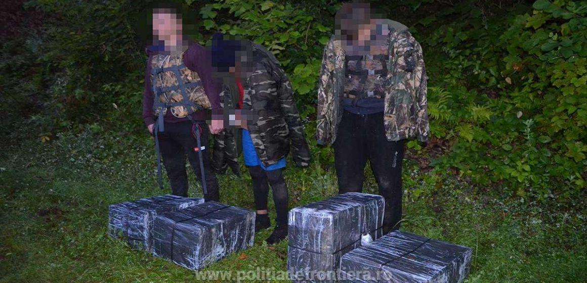 Trei tineri contrabandişti ucraineni, opriţi la frontiera de nord